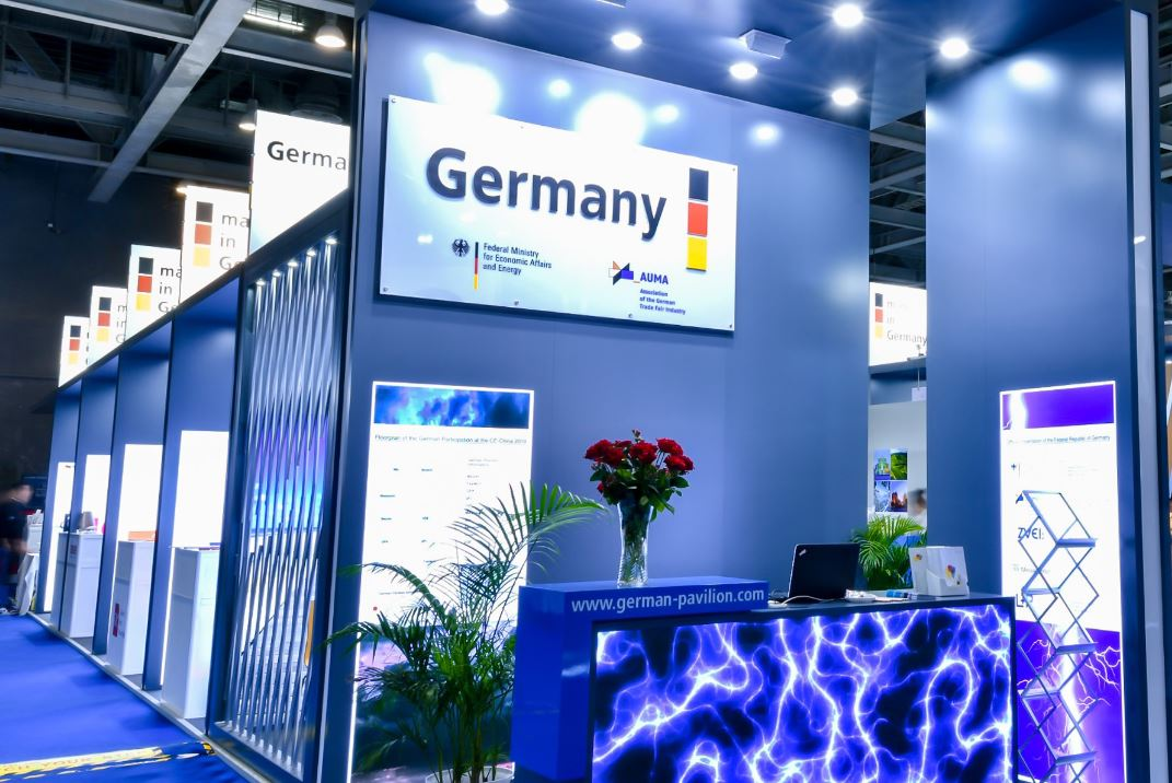 German Pavilion at CE China Open for Registration