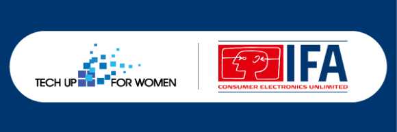"IFA Berlin 2021 presents ""Tech Up For Women"""